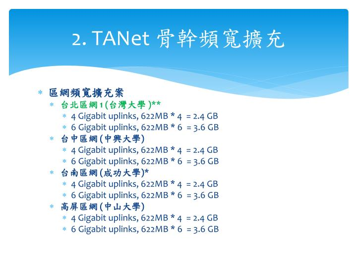 2. TANet