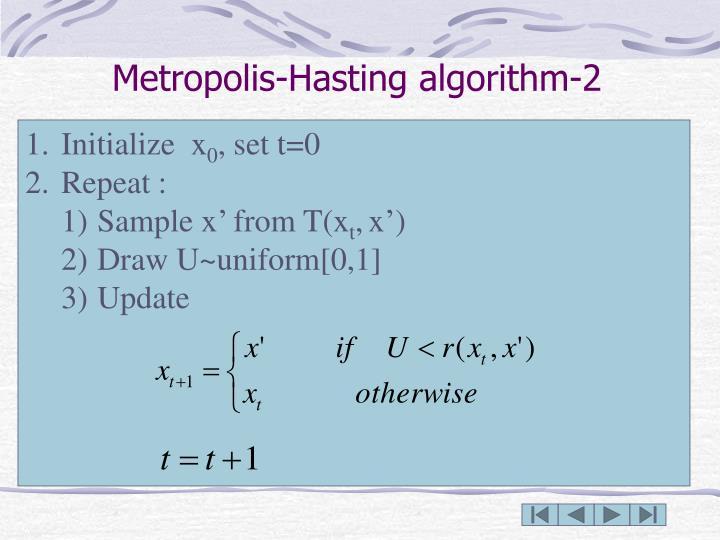 Metropolis-Hasting algorithm-2