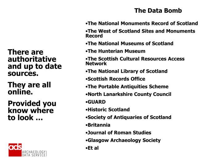 The Data Bomb