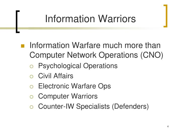 Information Warriors
