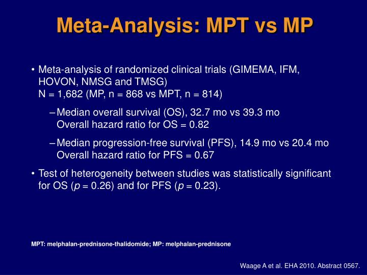 Meta-Analysis: MPT vs MP