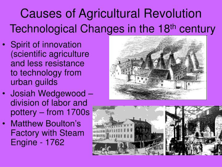 the significant changes caused by the industrial revolution The industrial revolution (ca 1750s - 1914) causes of the industrial revolution (conditions of pre-industrial europe pre-1750).