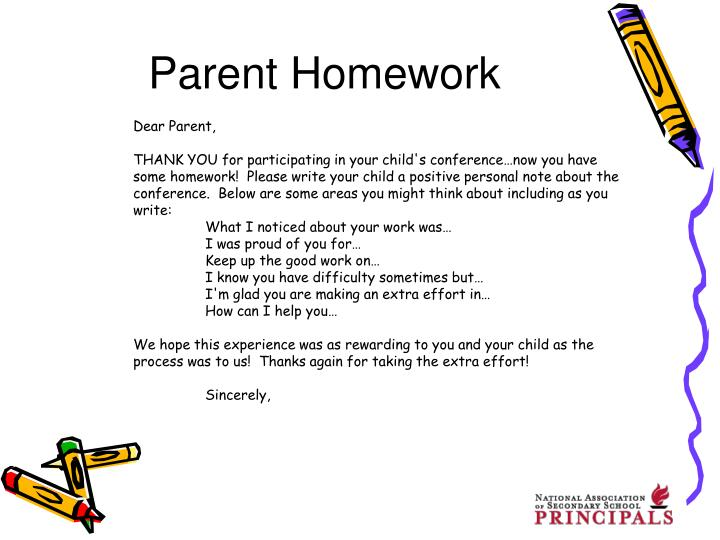 Parent Homework
