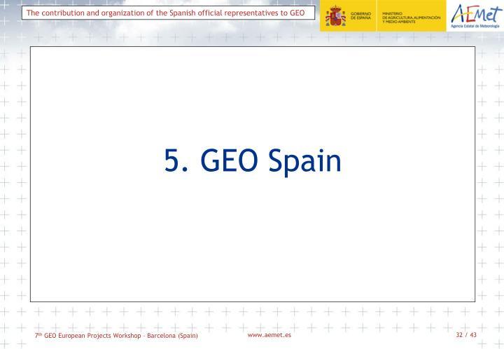 5. GEO Spain