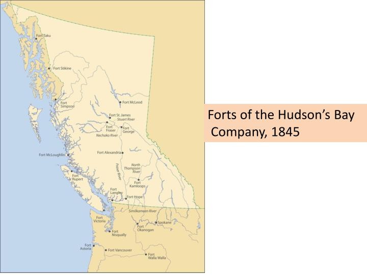 Forts of the Hudson's Bay