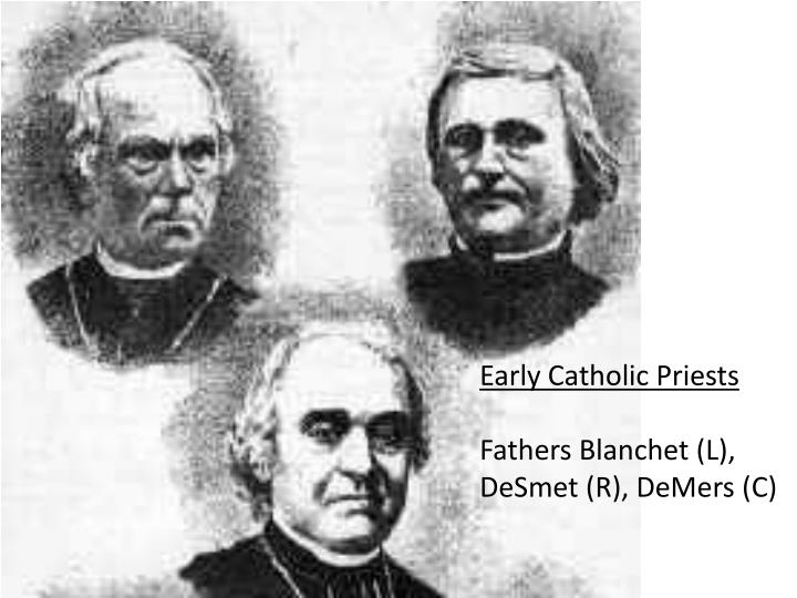 Early Catholic Priests