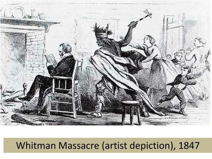 Whitman Massacre (artist depiction), 1847