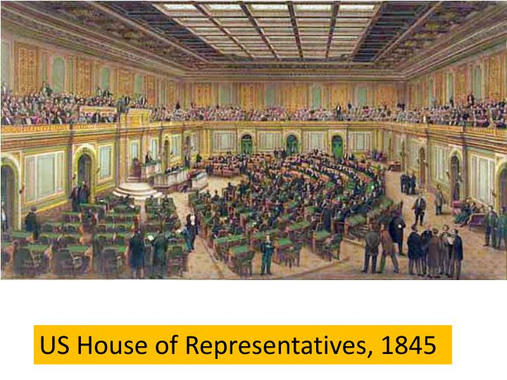 US House of Representatives, 1845
