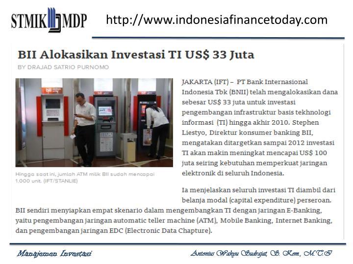 http://www.indonesiafinancetoday.com