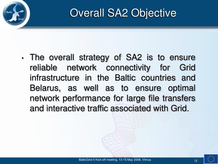 Overall SA2 Objective
