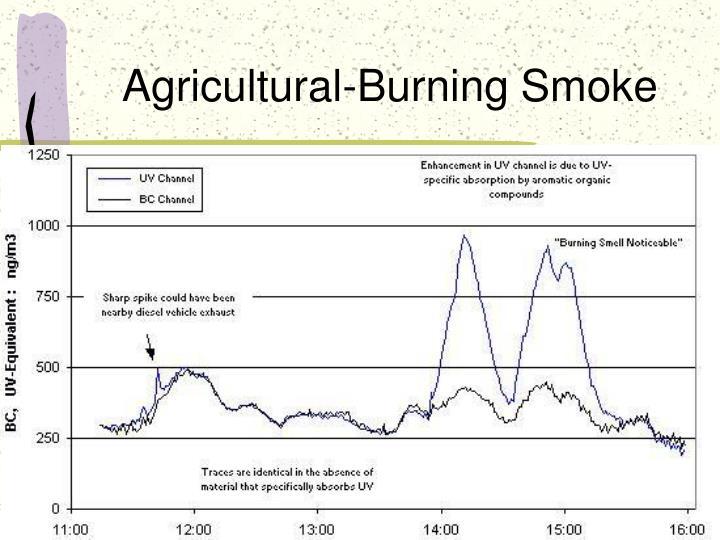 Agricultural-Burning Smoke