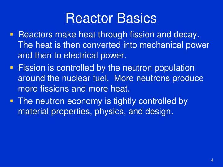 Reactor Basics