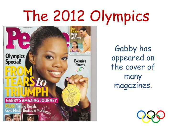 The 2012 Olympics