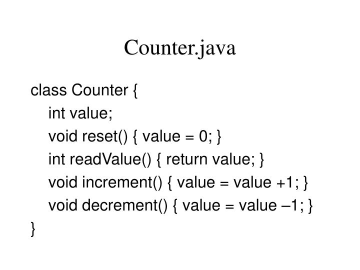 Counter.java