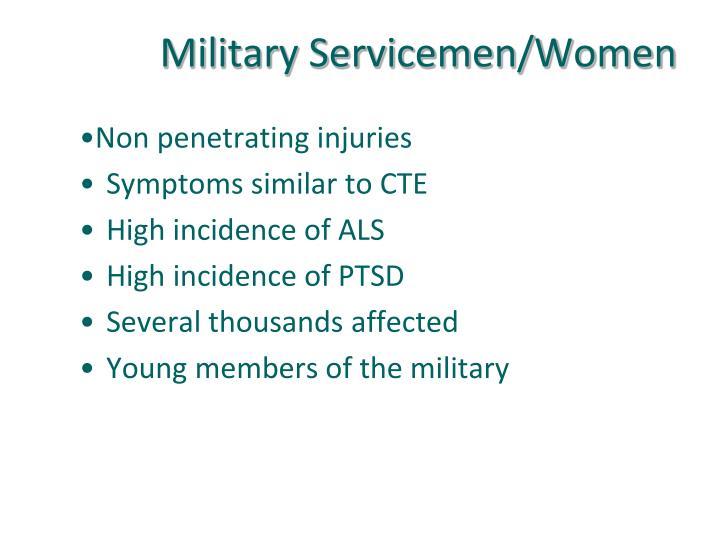 Military Servicemen/Women