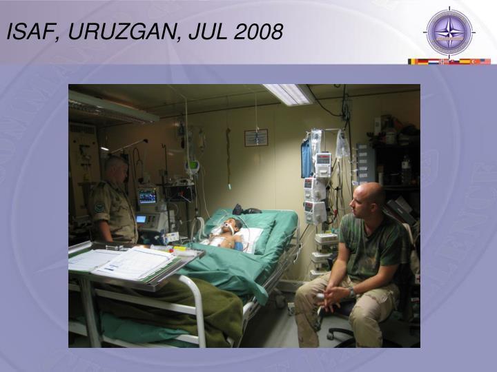 ISAF, URUZGAN, JUL 2008