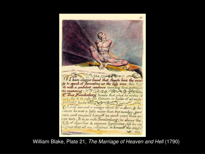 William Blake, Plate 21,