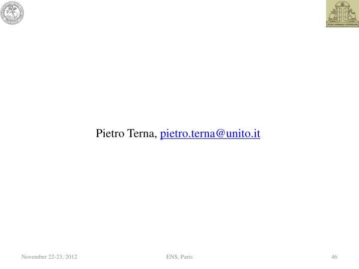 Pietro Terna,