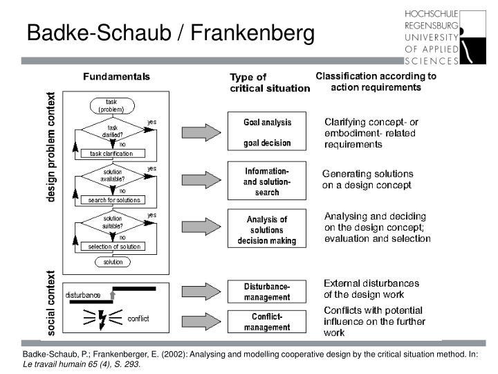 Badke-Schaub / Frankenberg