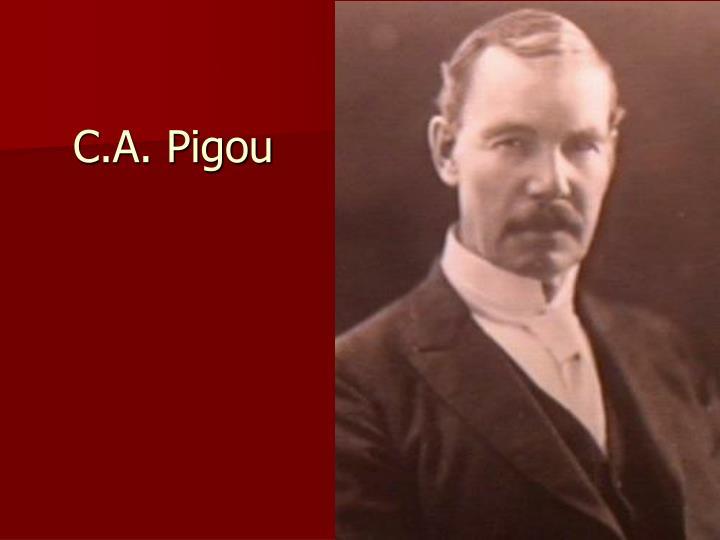C.A. Pigou