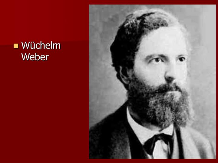 Wchelm Weber