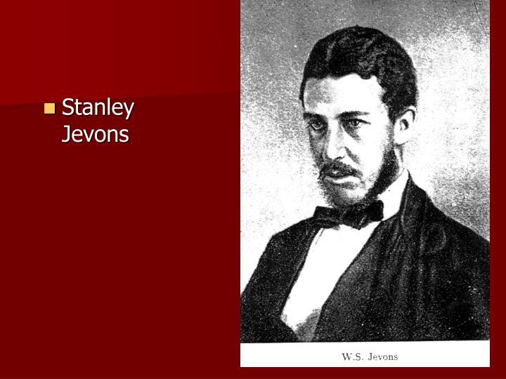 Stanley Jevons