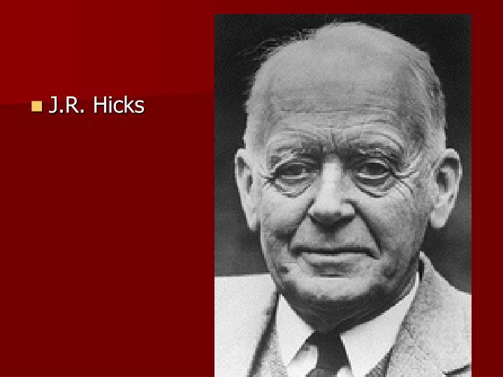 J.R. Hicks