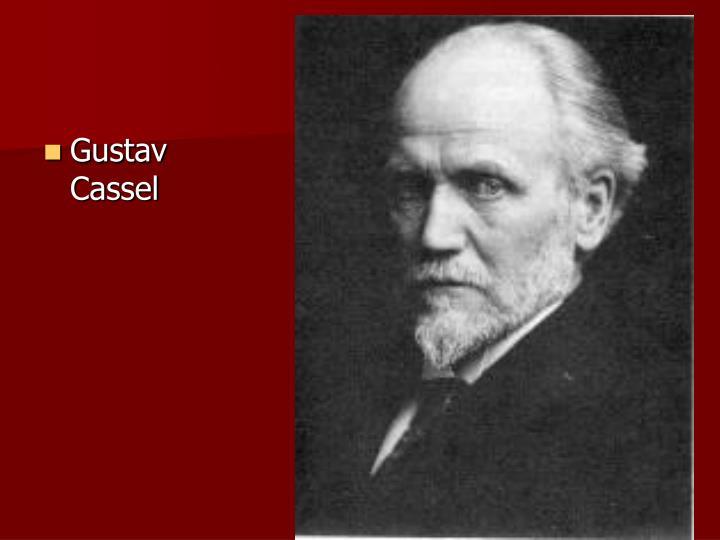 Gustav Cassel