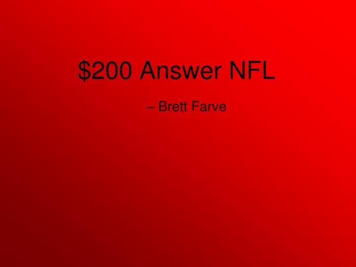 Brett Farve