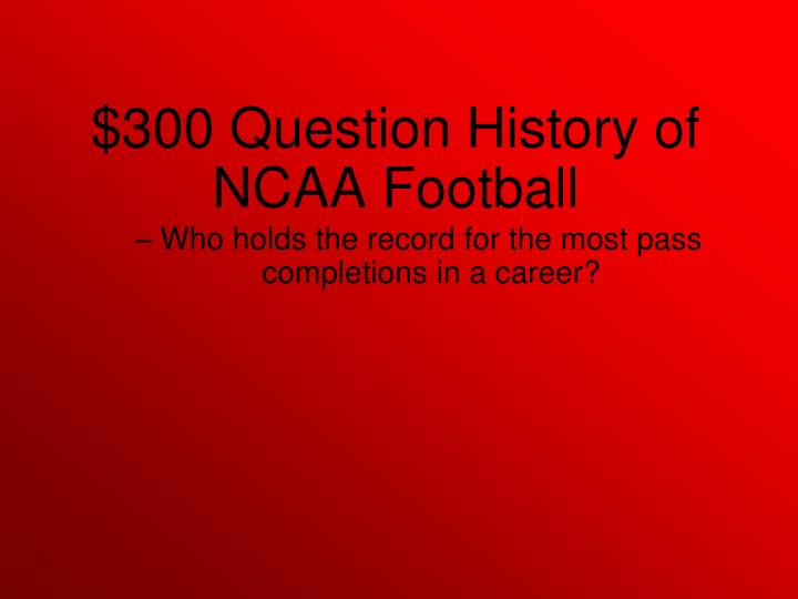 Who holds the record for the most pass completions in a career?
