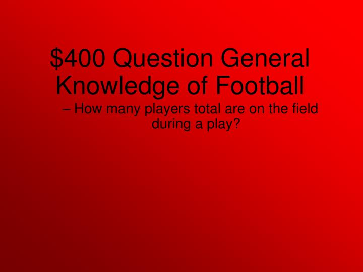 How many players total are on the field during a play?
