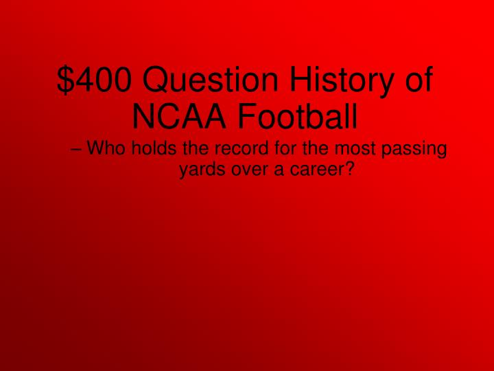 Who holds the record for the most passing yards over a career?
