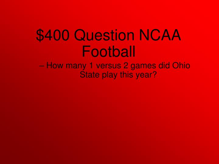 How many 1 versus 2 games did Ohio State play this year?