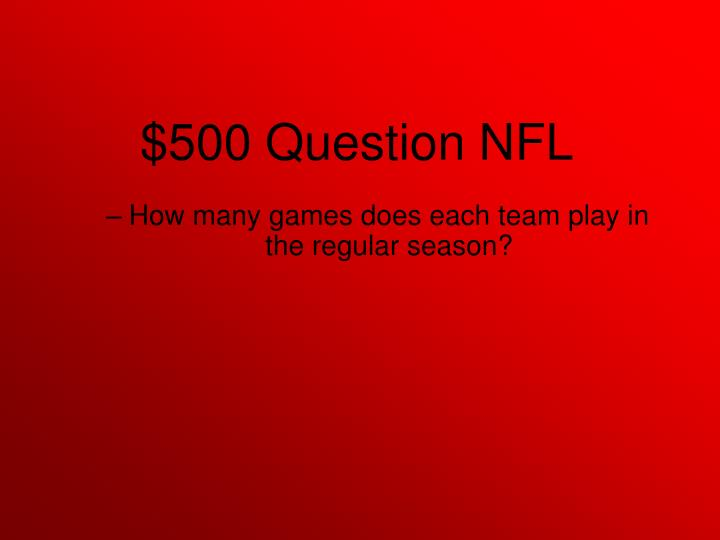 How many games does each team play in the regular season?