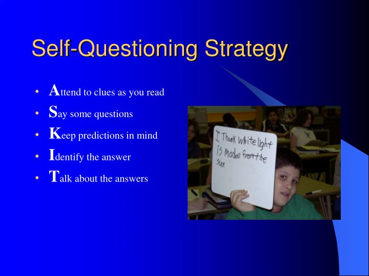 Self-Questioning Strategy