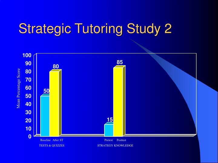 Strategic Tutoring Study 2