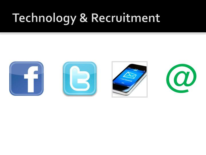 Technology & Recruitment