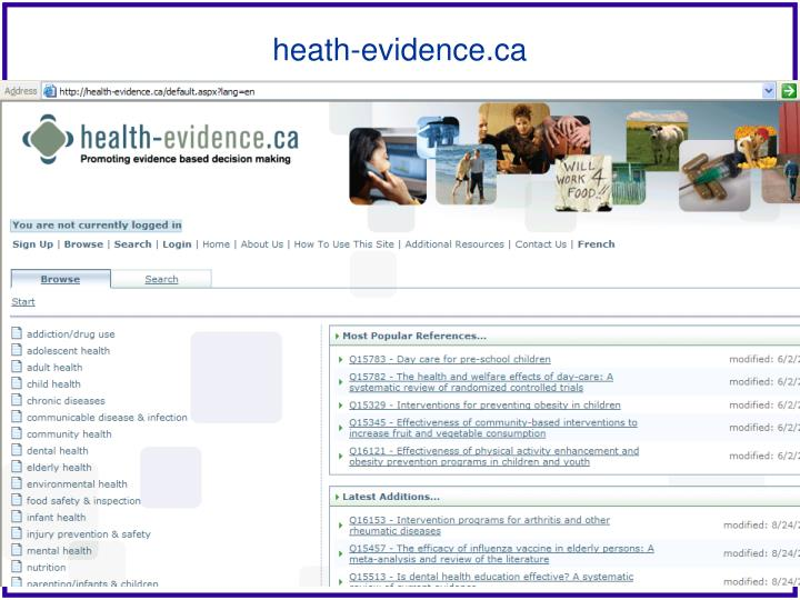 heath-evidence.ca