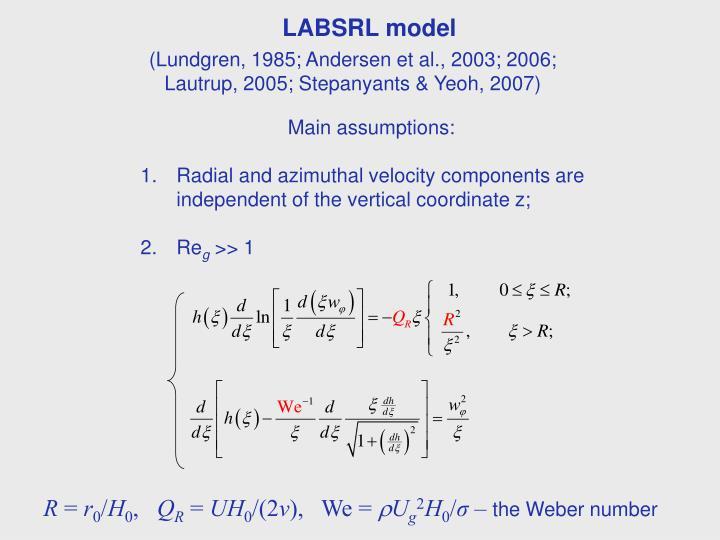 LABSRL model