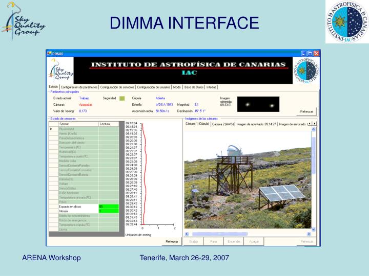 DIMMA INTERFACE