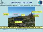 status of the dimma