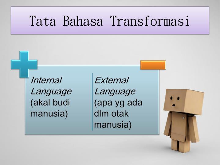 Tata Bahasa Transformasi