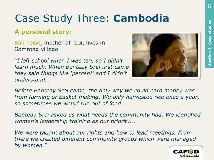 Case Study Three: