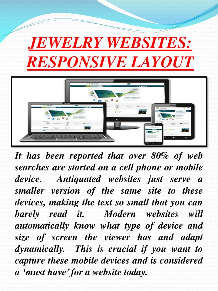 JEWELRY WEBSITES: