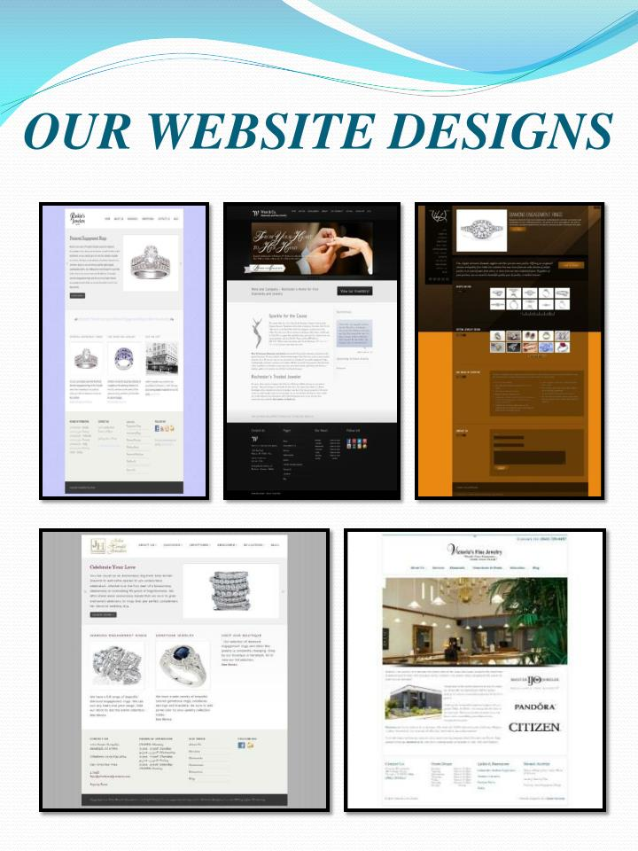 OUR WEBSITE DESIGNS