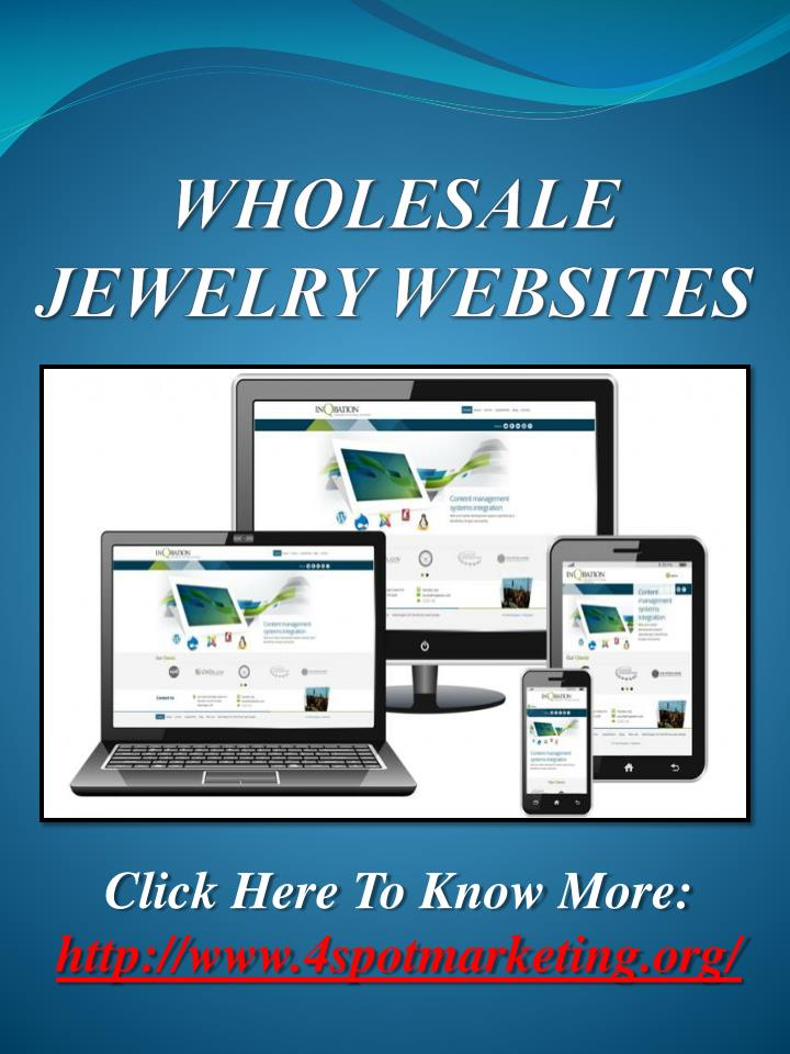 Wholesale jewelry websites