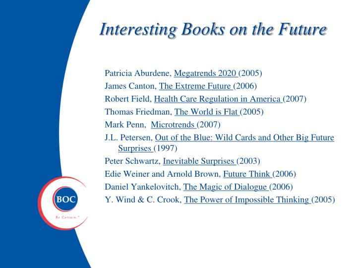 Interesting Books on the Future
