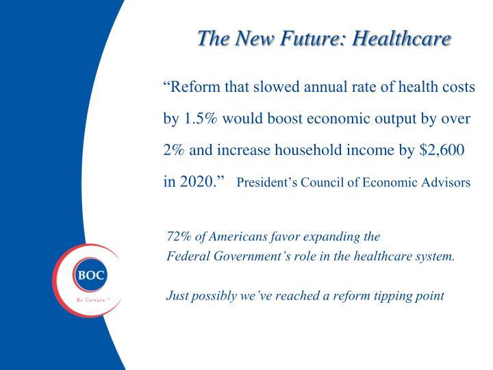 The New Future: Healthcare