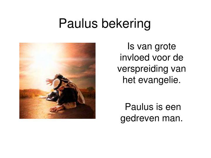 Paulus bekering