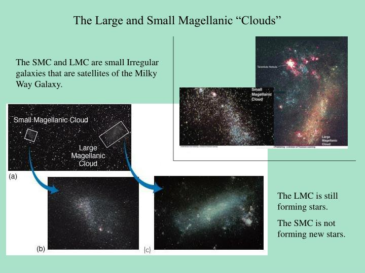 """The Large and Small Magellanic """"Clouds"""""""
